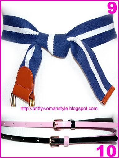 обикновени възли за колан