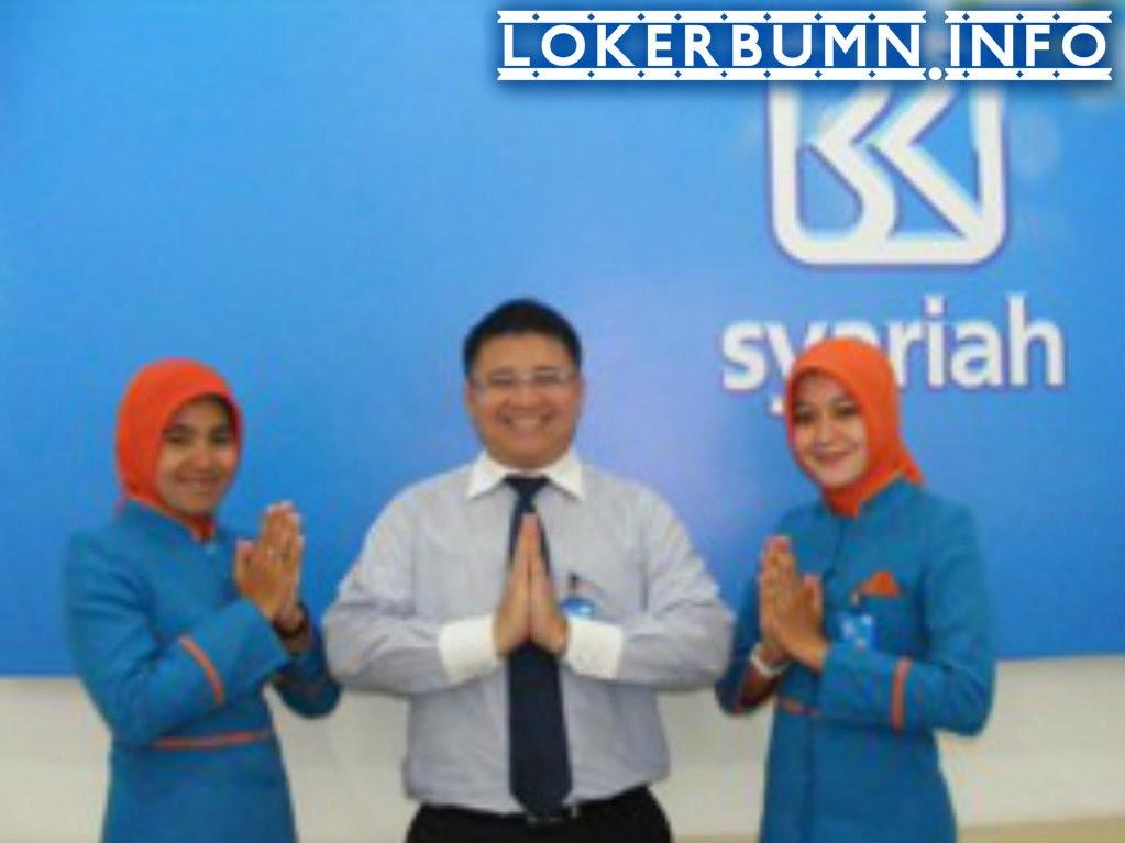 Lowongan Kerja Bank BRI Syariah Jabodetabek
