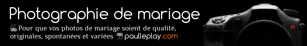 Photographie de mariage - Paul Leplay