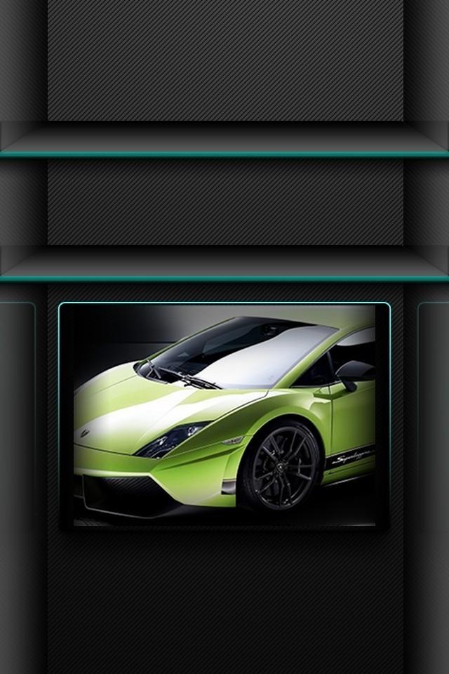 Iphone+4s+Green+Lambo En Güzel İphone 4s Resimleri