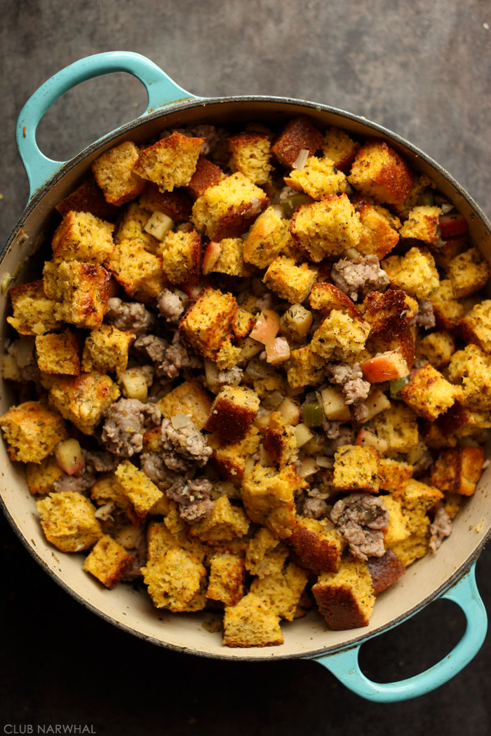 Cornbread Dressing With Sausage And Apples Recipes — Dishmaps