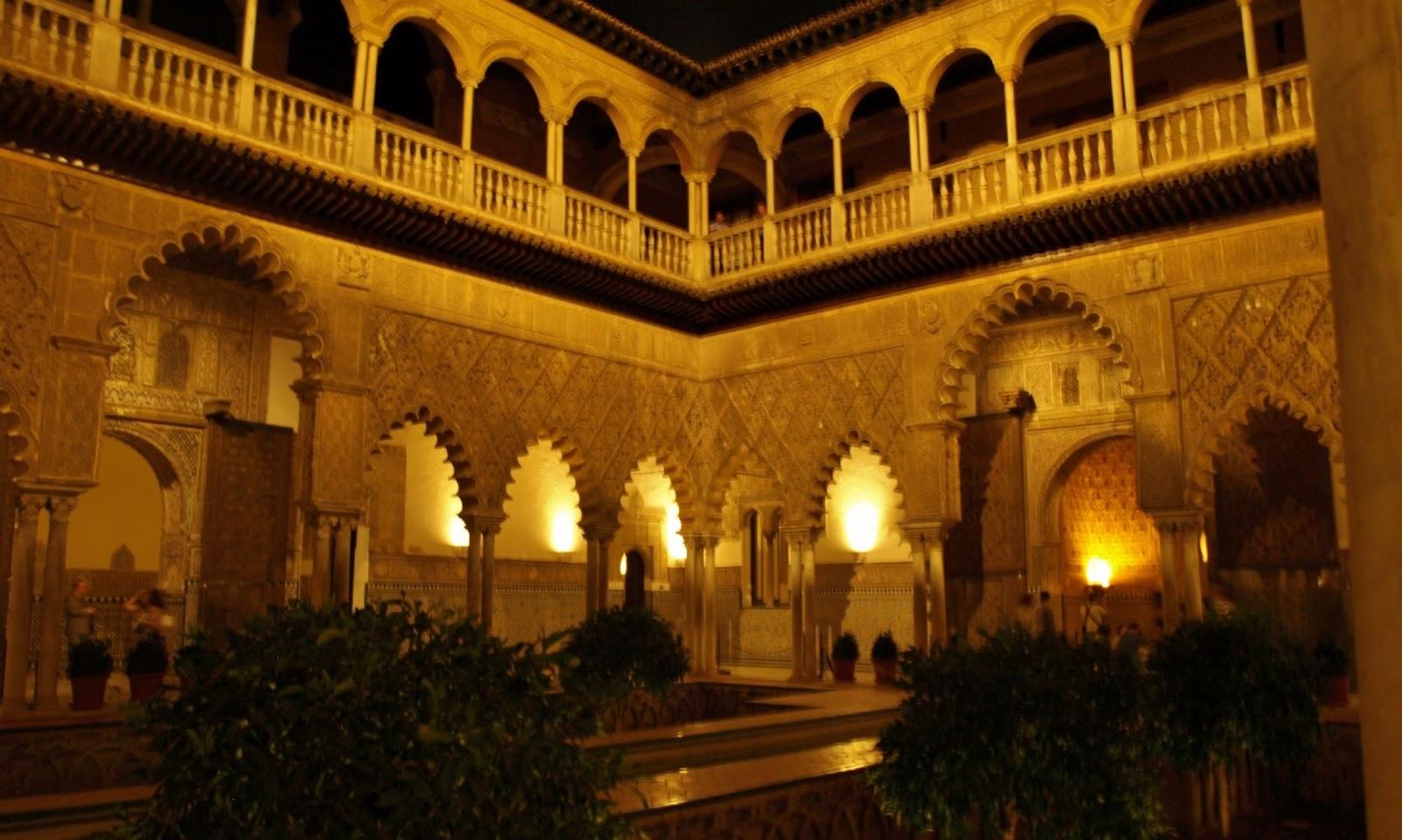 Sevilla Daily Photo La Nueva Iluminaci N Del Alc Zar 2