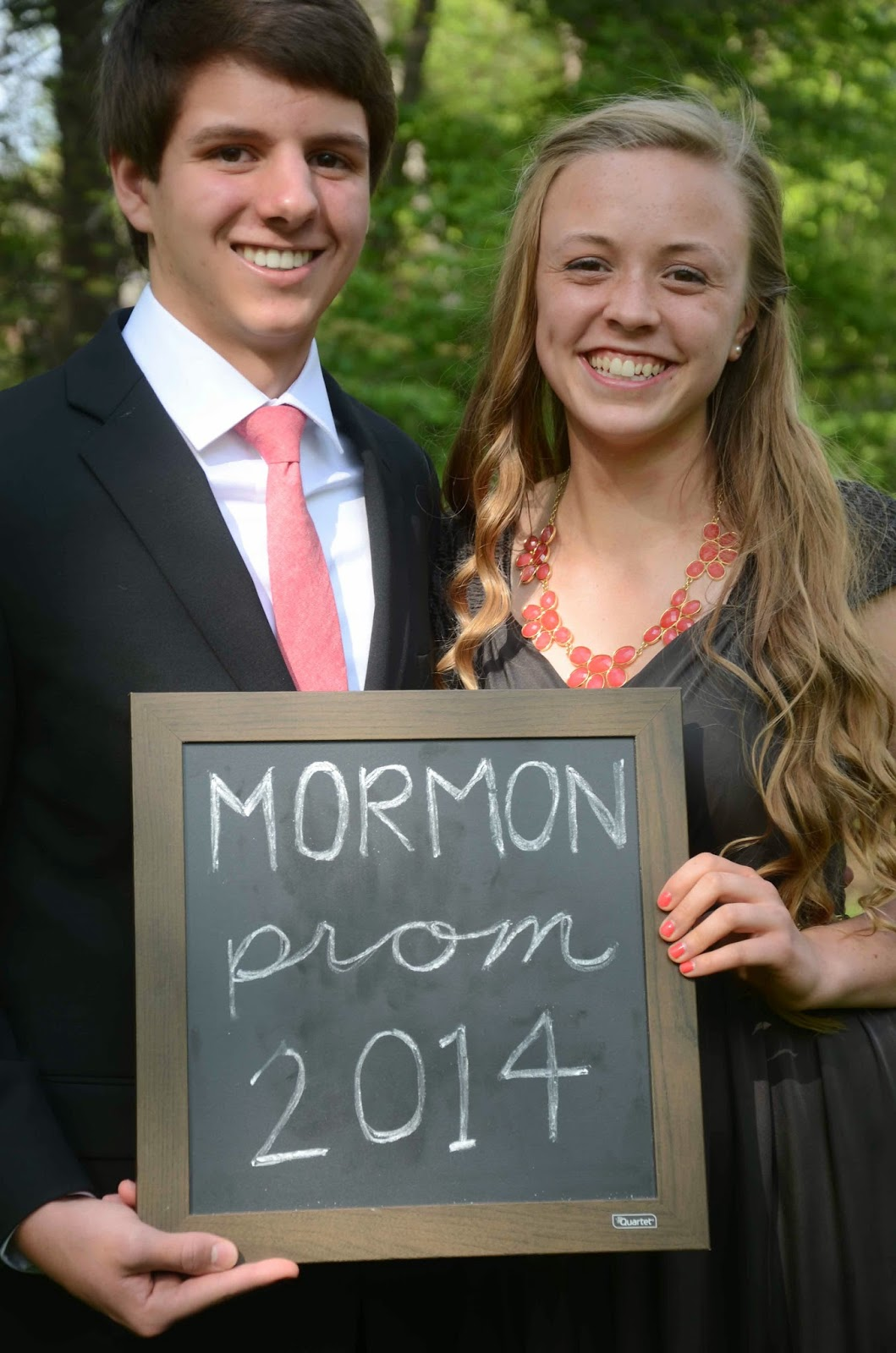 a day at a time mormon prom