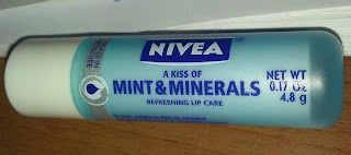 laurel likes it nivea lip balm reveiw