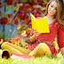 Girls with Books High Definition Photography