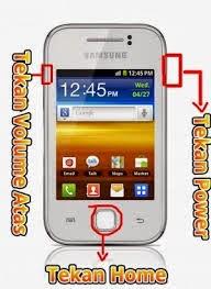 Cara Hard Reset Samsung Galaxy Young