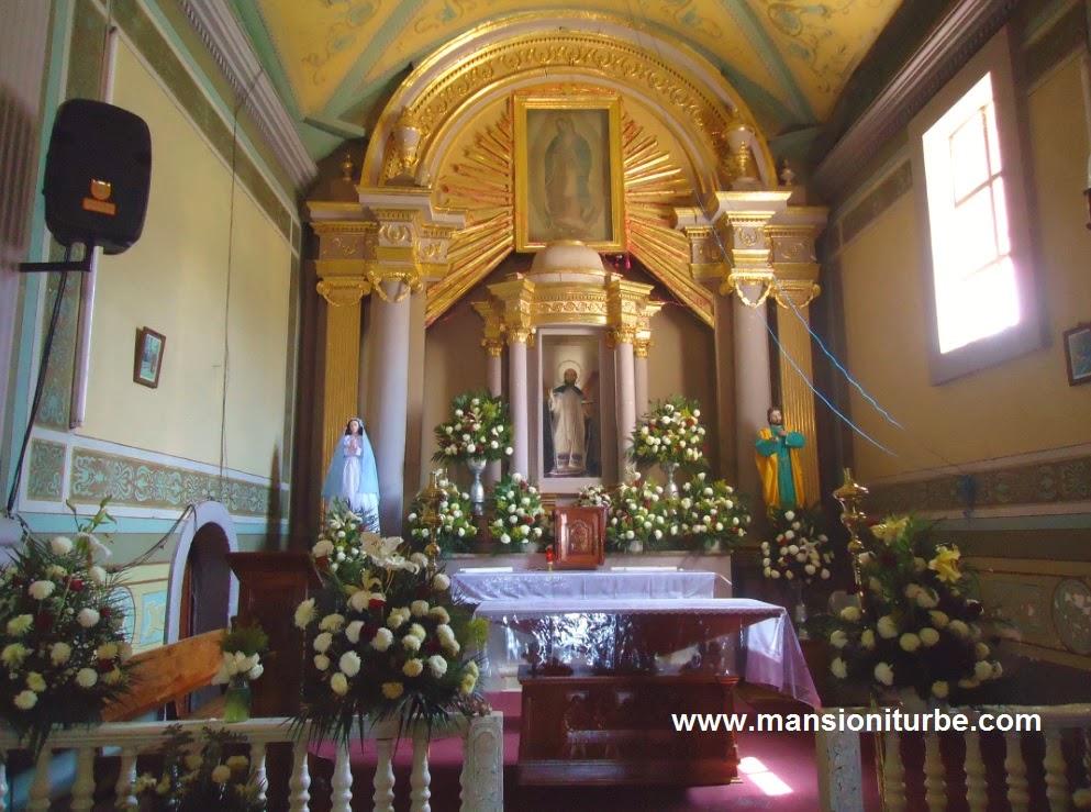 Templo de Tocuaro: Altar