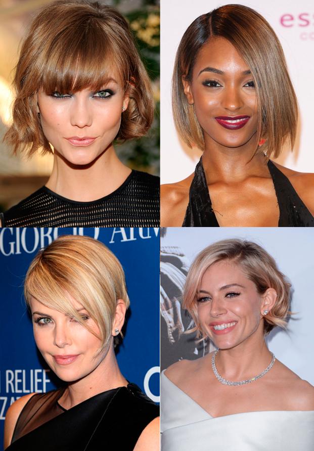 El cabello corto en todos los estilos
