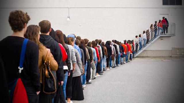 Odio hacer fila