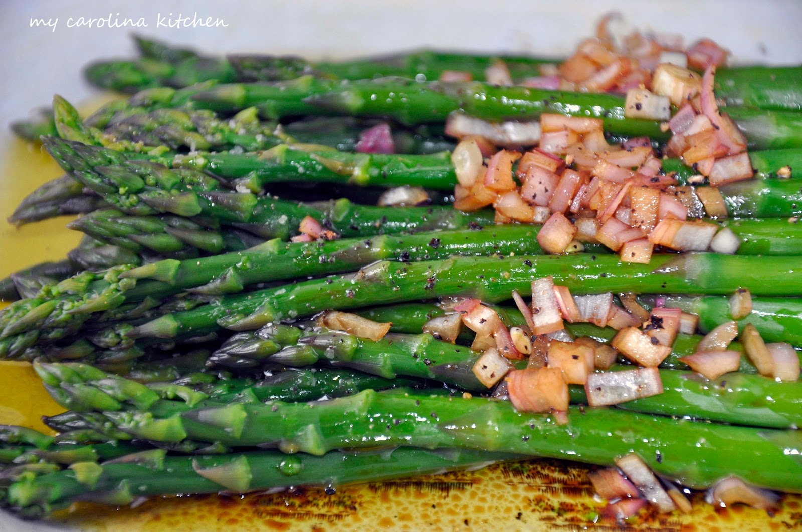My Carolina Kitchen: Asparagus Paired With An Exciting New Vinegar ...