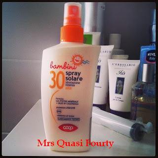 Spray solare coop protezione alta 30 protezione totale 50