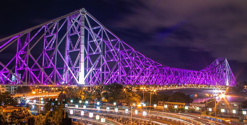Image result for howrah bridge kolkata