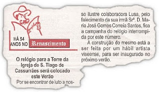 Digitalização do jornal Renascimento