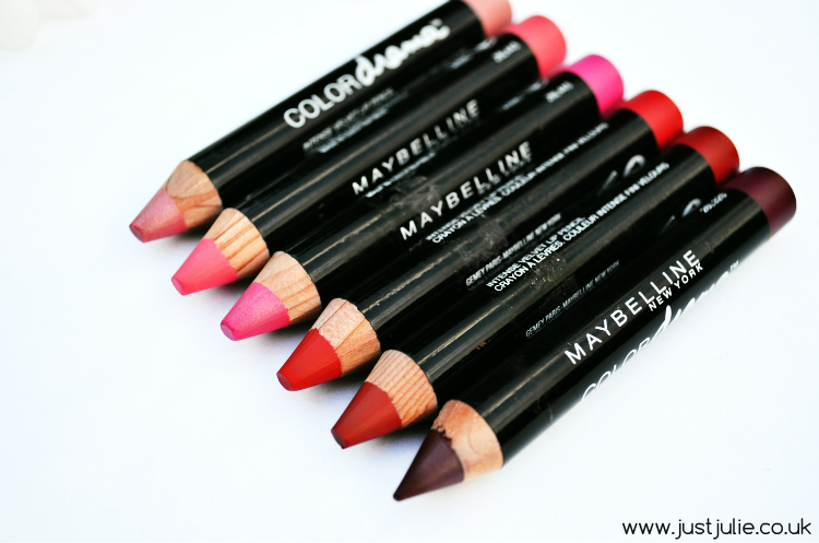 Maybelline Color Drama Velvet Lip Pencil Review