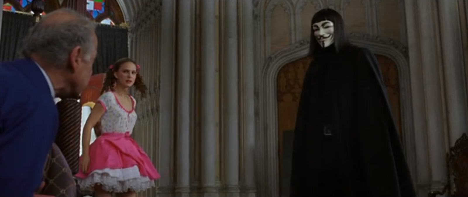 v for vendetta evey essay V for vendetta directed by james mcteigue is about a vigilante v who was a prisoner at larkhill a medical centre where they used humans as test subjects the.
