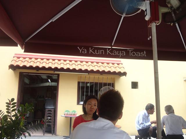 Ya Kun Kaya Toast Singapore - 01