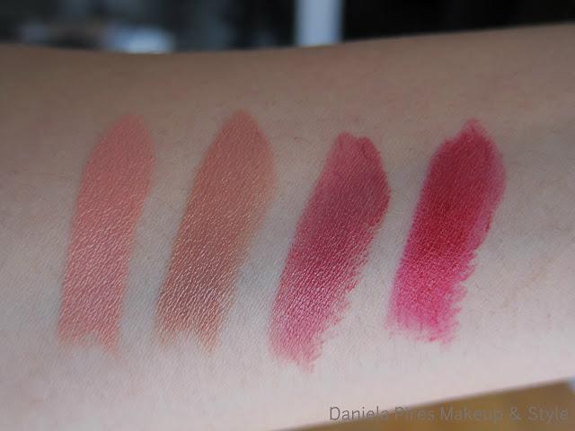 kiko creamy lipsticks, lipsticks 396, 397, 389, 392, review maquilhagem kiko