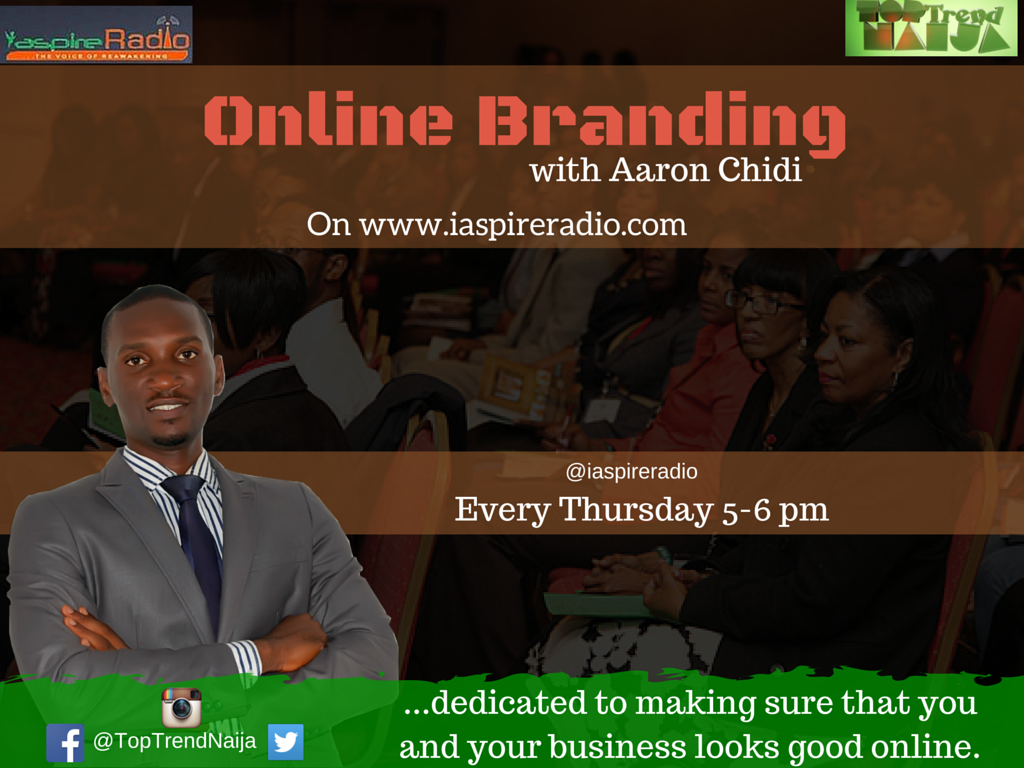 Every Thursdays BY 5PM ON IaspireRadio