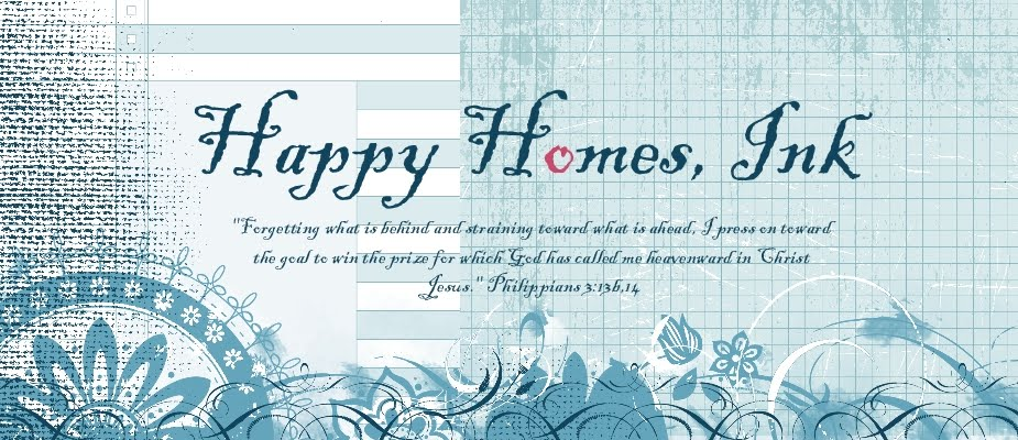 {Happy Homes} ink