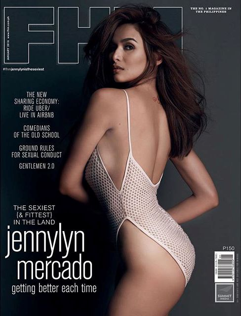 Jennylyn Mercado - FHM PH Jan 2016