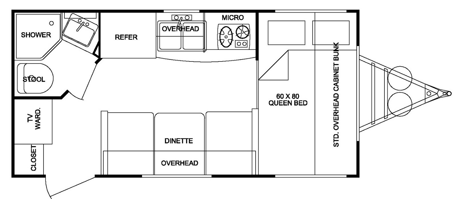 2007 fun finder for sale floor plan for Floor plan finder