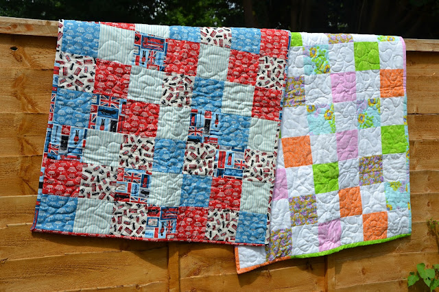 Baby Boy and Baby Girls Quilts