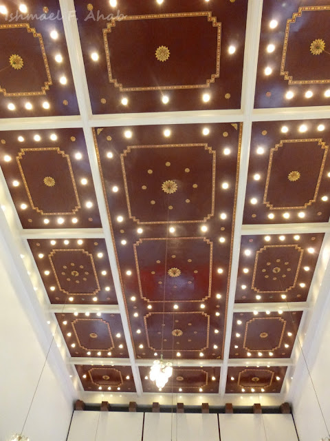 Thai-style ceiling in Holy Redeemer Church, Bangkok