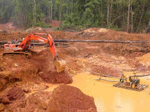 De geschiedenis van de kleinschalige goudwinning in Suriname