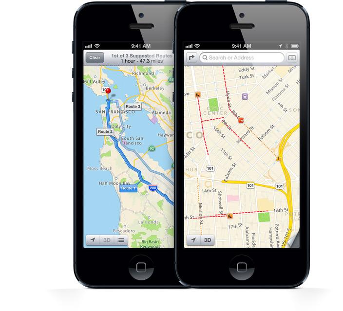 Still iphone 5 google maps no voice