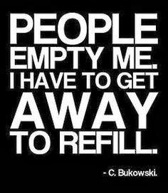 introversion, bukowski,