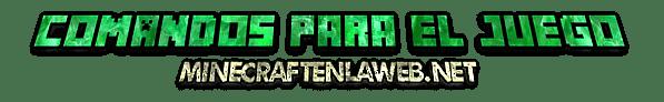 Comandos para usar en Minecraft + Trick´s game