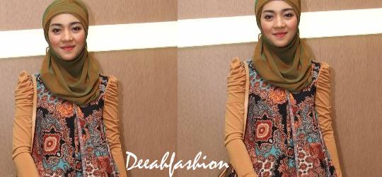 Nuri Maulida Etnik Style Hijab