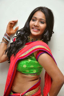 Actress Mithra half saree Pictures 007.jpg