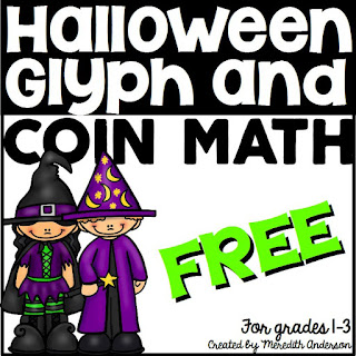 https://www.teacherspayteachers.com/Product/Halloween-Math-and-Glyph-FREE-926296