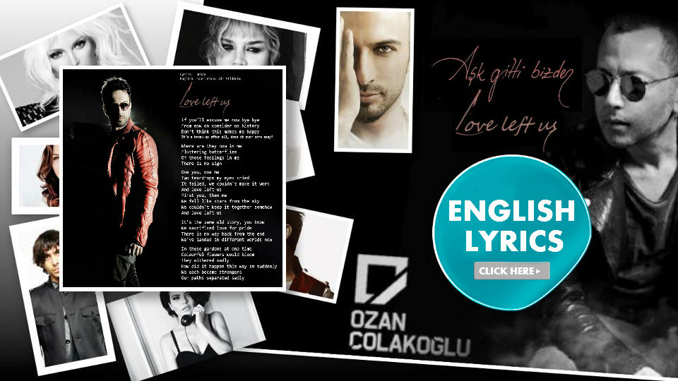 English lyrics to Tarkan's 2012 song Ask Gitti Bizden