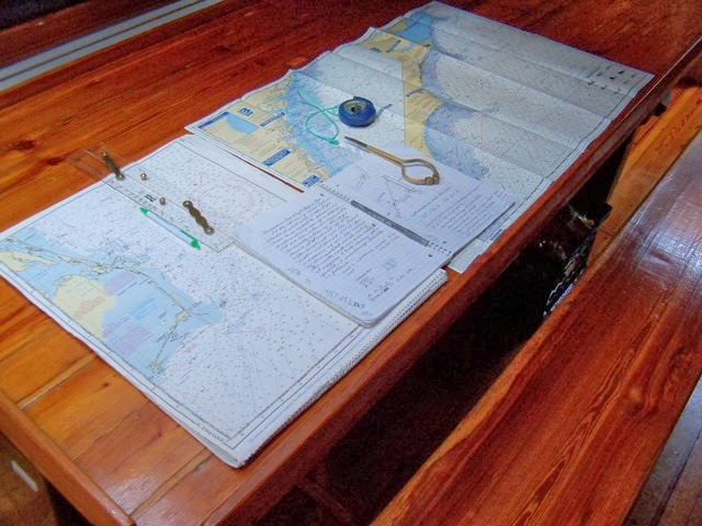 Ericson 25, Oystercatcher: Electronics, GPS and VHF, Part 1 ...