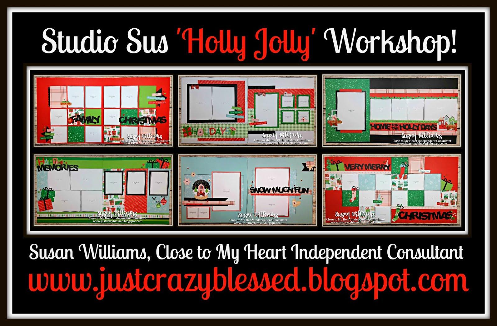 Holly Jolly Scrapbooking Workshop!