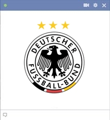 Germany Football Team Kode Emoticon Chat Facebook Klub (Team) Sepakbola