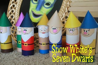 Snow White's Seven Dwarfs Printable