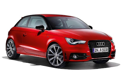 Audi A1 S Line Style Edtion 3-Door (2013) Front Side