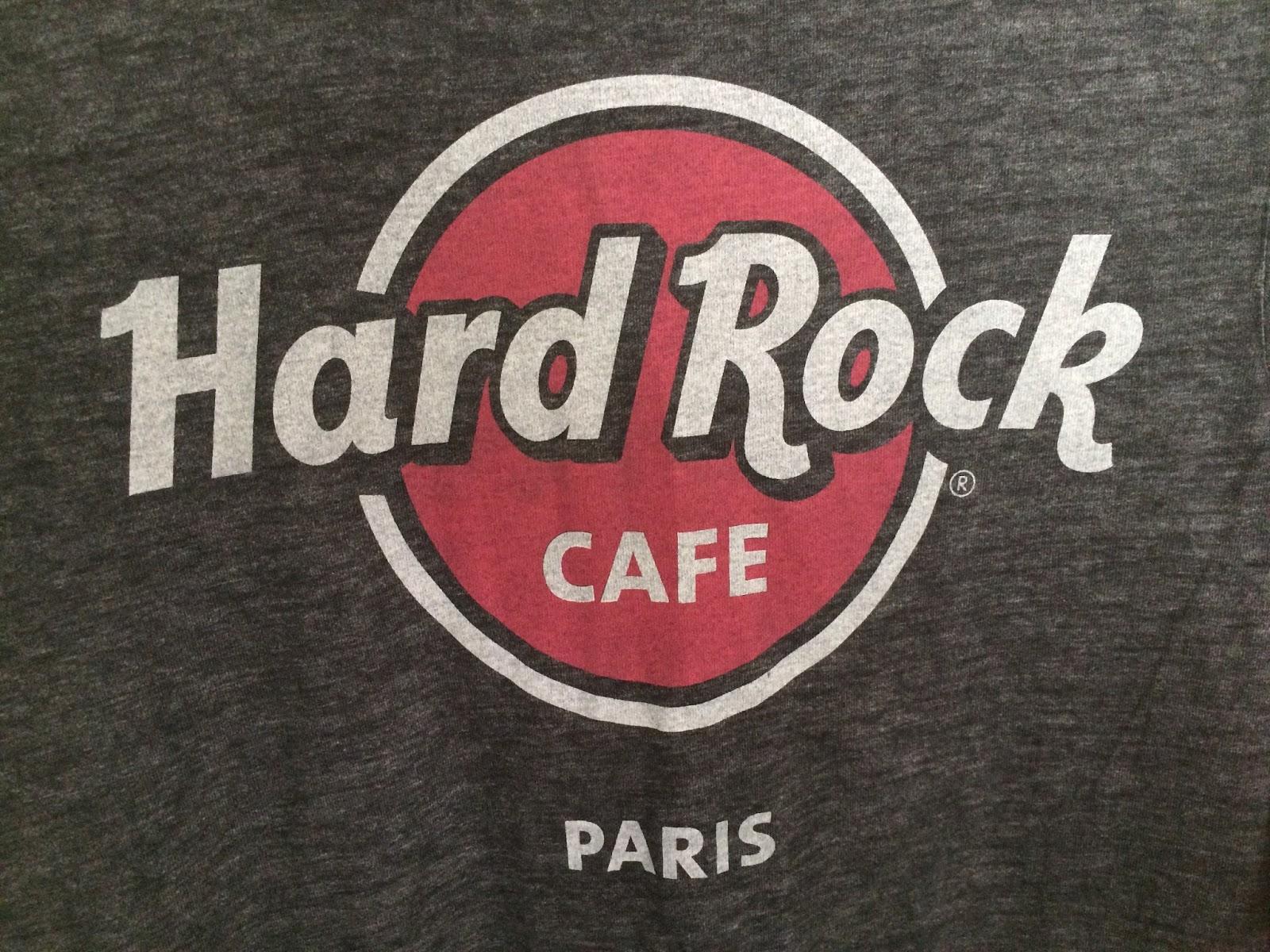 Tee Shirt Hard Rock Caf Ef Bf Bd Paris