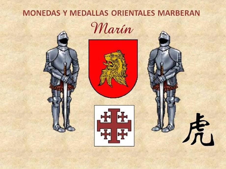 MONEDAS Y MEDALLAS ORIENTALES MARBERAN
