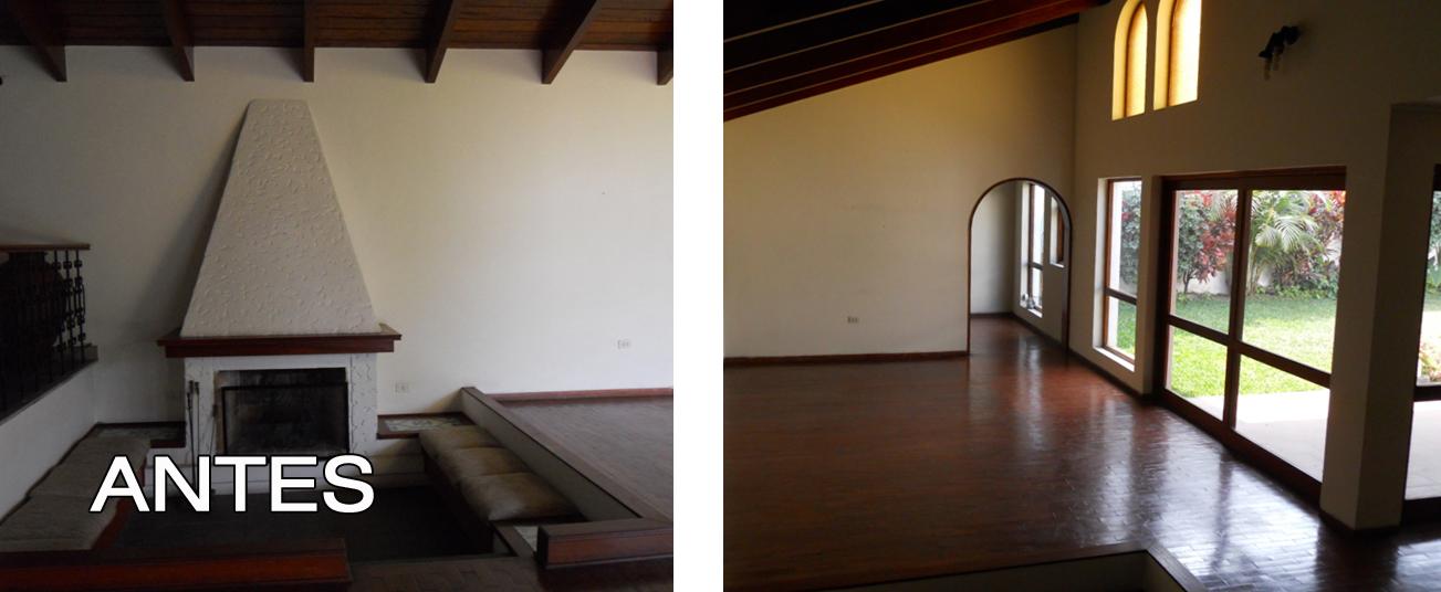 Oniria antes y despu s remodelacion de sala - Casas reformadas antes y despues ...