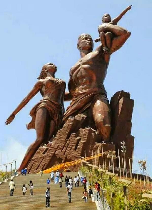 the african renaissance monument
