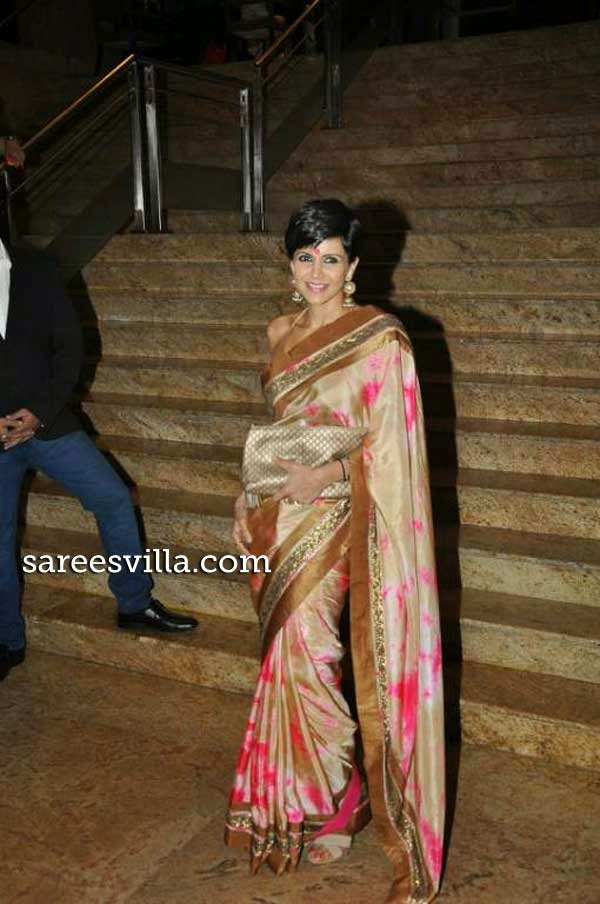 Mnadira Bedi in Saree
