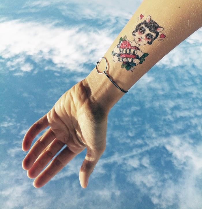Planche Tattoo Tatouage Temporaire Métallique Body Art
