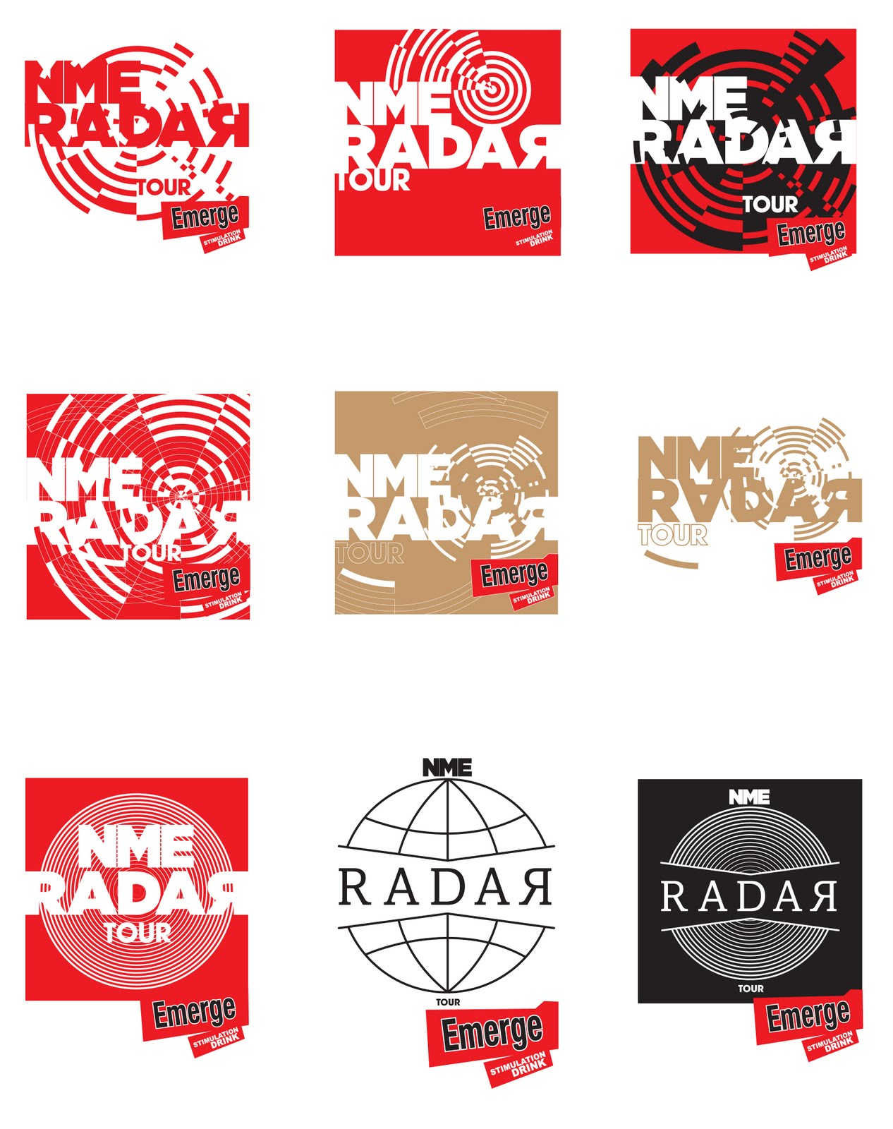 Radar logo design
