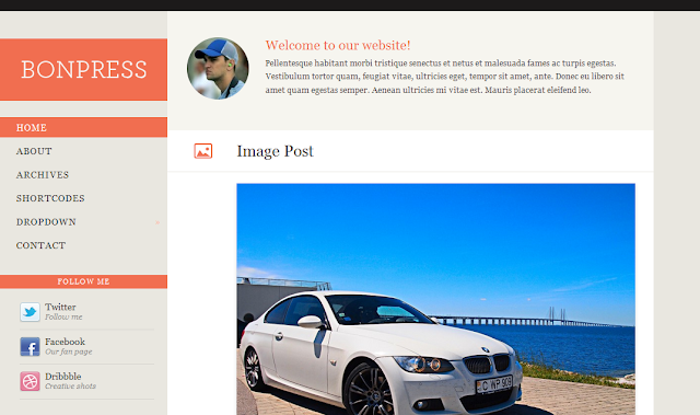 BonePress Wordpress Theme