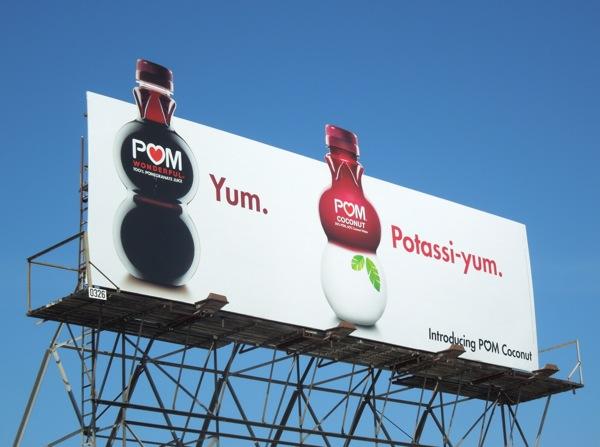 Pom Coconut Yum Potassiyum billboard
