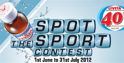 Livita 'Spot the Sport' Contest